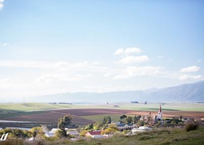 Baie mooi foto van die vallei