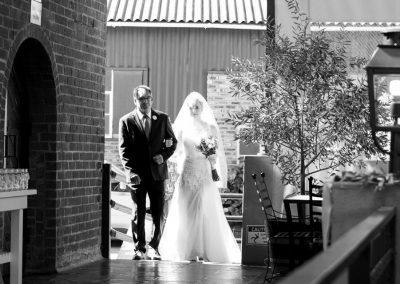bruid en pa