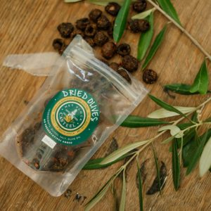 Dried Nocellara Olives Chilli Snack Pack